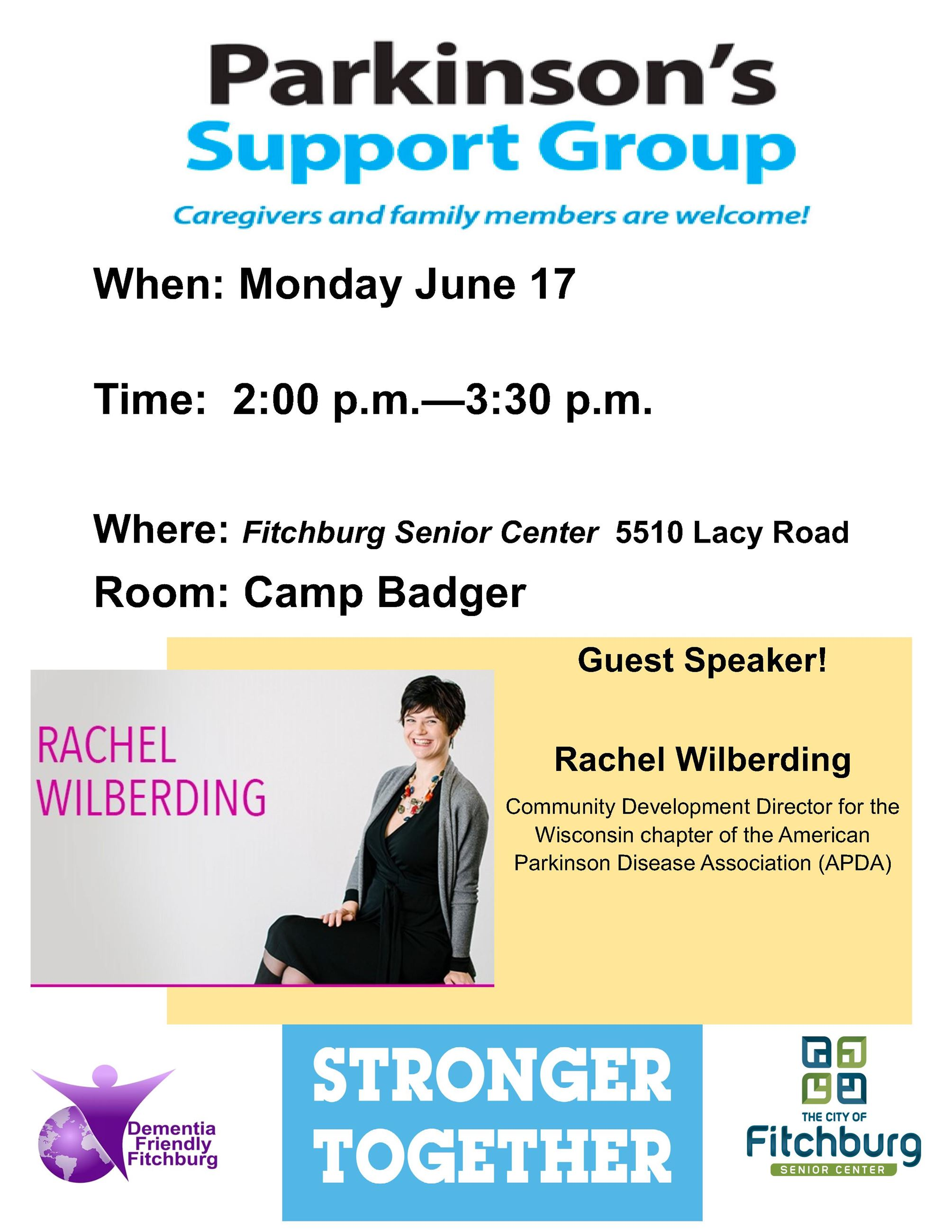 JUNE 2019 PD SUPPORT GROUP